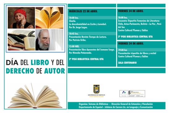 Biblioteca invita a celebrar el Día del Libro