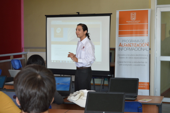 Biblioteca inició programa de inducción y Alfabetización Informacional