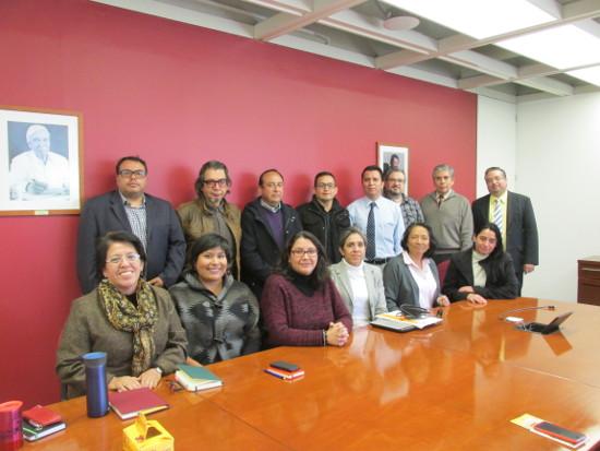 Bibliotecólogo UTA se capacita en el Colegio de México