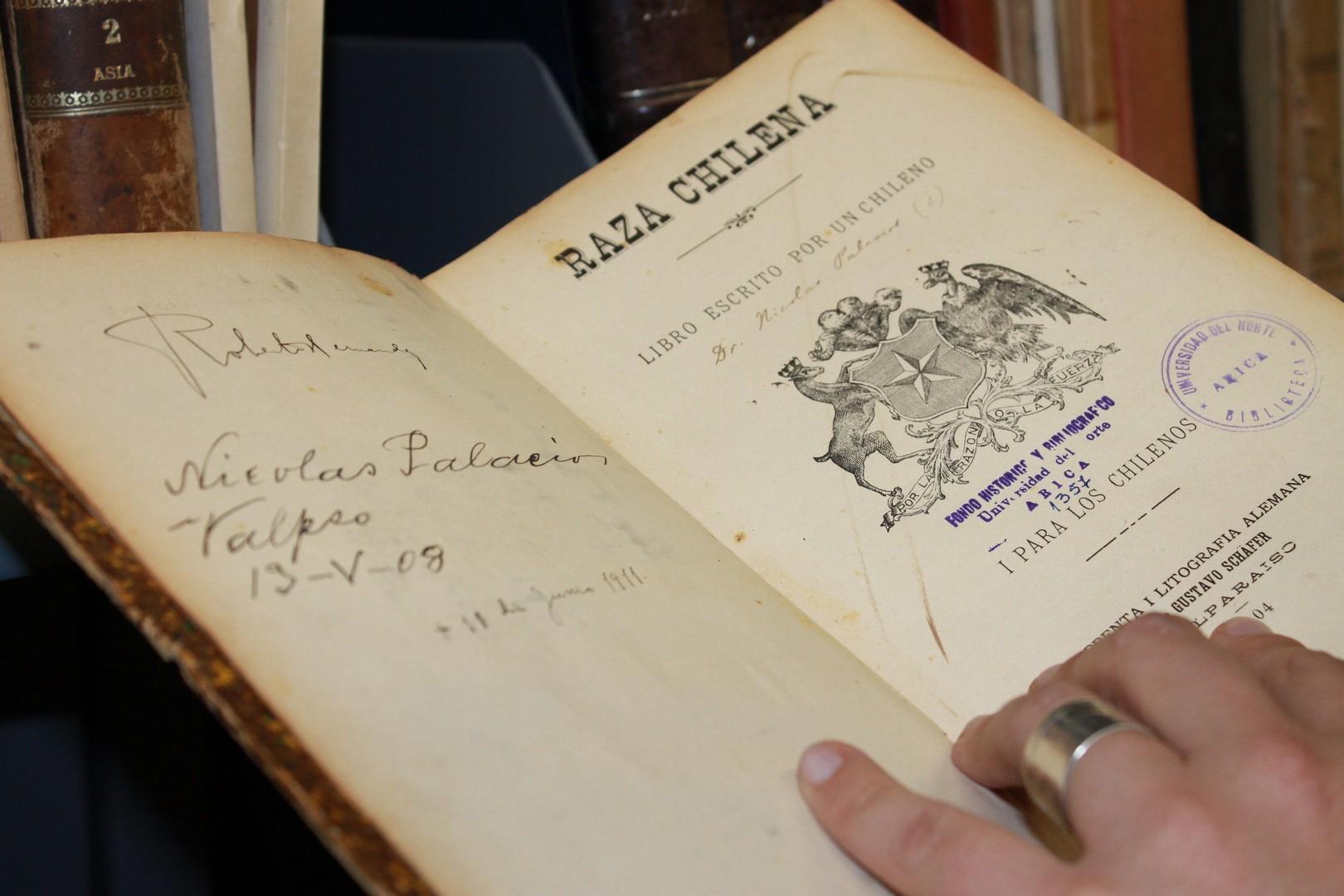 Nueva página web y acceso a textos de valor histórico – patrimonial presenta la colección Alfredo Wo