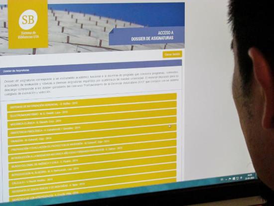 Biblioteca presenta: Dossier de Asignaturas