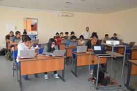 Biblioteca capacitó a estudiantes de 1° año de Diseño Multimedia