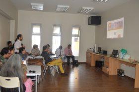 Profesores del Liceo Artístico se capacitan en uso de base de datos