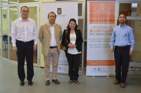 Biblioteca Central recibió visita de experta en Alfabetización Informacional de la Universidad André