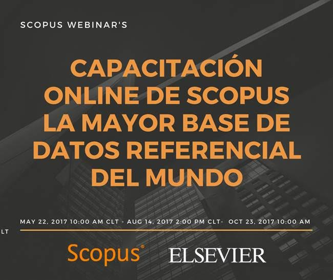 Scopus realizará su primera capacitación online