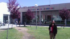 Bibliotecólogo UTA se capacita en España