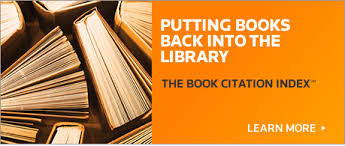 Biblioteca promueve recurso: Book Citation Index en demostración hasta el 25 de mayo