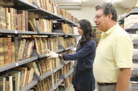 Colección especial Alfredo Wormald Cruz de Biblioteca, entra en proceso de Puesta en Valor