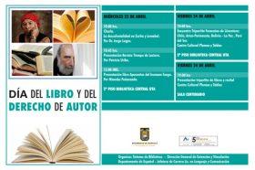 Biblioteca invita a celebrar el Día del Libro, Idioma y Derecho de Autor